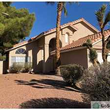 Rental info for 4BDR 2100sq.ft. house clean and ready for Immediate move In in the Las Vegas area