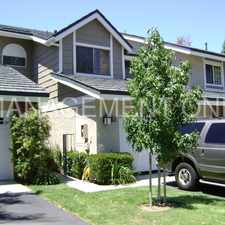 Rental info for Tranquil Townhome in Irvine - Great for Commuters in the Irvine area