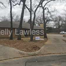 Rental info for 7527 Windhaven Road in the Fort Worth area