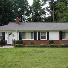 Rental info for GREAT HOUSE NEAR DOWNTOWN in the Raleigh area