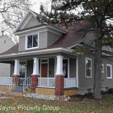 Rental info for 421 W Rudisill Blvd in the Fort Wayne area