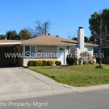 Rental info for 3329 Wemberley Drive in the Sacramento area