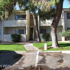 Rental info for 8055 E. THOMAS RD #J102 in the Scottsdale area