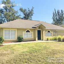 Rental info for 1009 Chiquita Blvd S, in the Cape Coral area