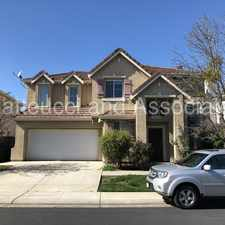 Rental info for Beautiful Brookside Home in the Stockton area