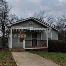 Rental info for Spacious 4 Bedroom Home! in the South Atlanta area