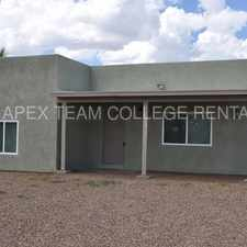 Rental info for Beautiful Property Pre-leasing for August in the Tucson area