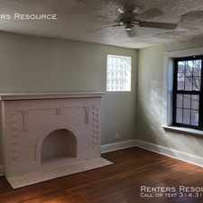 Rental info for 3116 Morganford Road in the St. Louis area