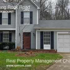 Rental info for 6729 Mounting Rock Road in the Charlotte area