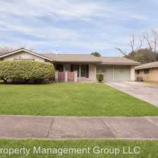 Rental info for 3611 Lakefield St in the San Antonio area