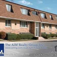 Rental info for 312,314, 316 N. Warwick Ave in the 60559 area