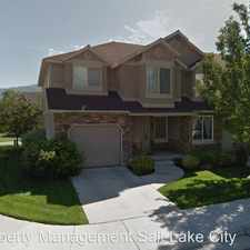 Rental info for 781 S Creek View Drive in the Kaysville area