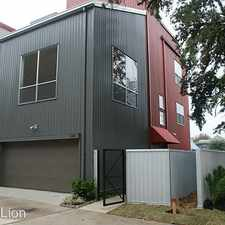 Rental info for 2425 WENTWORTH ST in the Houston area