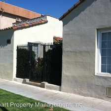 Rental info for 4137-4141 3/4 Monroe Street in the Los Angeles area