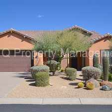 Rental info for Wingate Ranch! Stunning 3 Bedroom Home! in the Scottsdale area