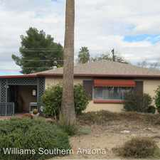 Rental info for 2349 E 19th Street in the Tucson area
