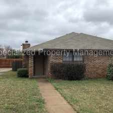 Rental info for 4621 Sausalito, Arlington- video tour - self showing in the Fort Worth area