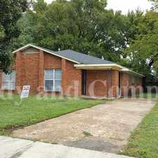 Rental info for Wonderful Brick Duplex! in the Memphis area