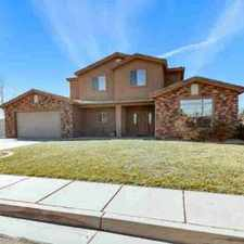 Rental info for 99 N Lee LN Saint George Four BR, Immaculate home in Riverside