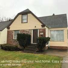 Rental info for 4070 Wyncote Rd in the Cleveland area
