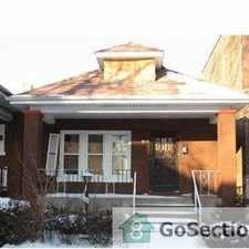 Rental info for *** BEAUTIFUL 4 BEDROOM HOUSE - READY NOW FOR RENT @ 68TH & PRAIRIE *** in the Chicago area