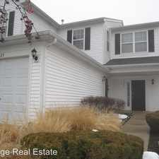 Rental info for 1221 Brookdale Drive in the Carpentersville area