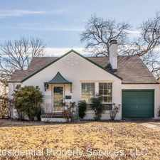 Rental info for 4221 Lovell in the Fort Worth area