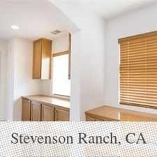 Rental info for 3 Bedrooms - Gorgeous Townhouse In Bella Ventan... in the Stevenson Ranch area