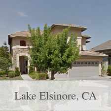 Rental info for This Home Isn't Quite Ready Yet. in the Lake Elsinore area