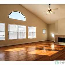 Rental info for Beautiful Townhouse in the Houston area