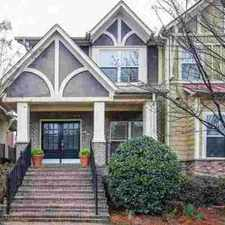 Rental info for 1288 Atlantic Dr Atlanta Three BR, Fabulous Executive Townhome