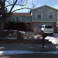 Rental info for Lease Spacious 3+2. Approx 2,000 Sf Of Living S... in the Colorado Springs area