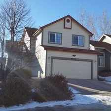 Rental info for Gorgeous 3 Bedroom 2 Story Home In Stetson Hills in the Colorado Springs area