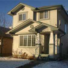 Rental info for 859 McAllister Crescent SW