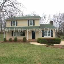 Rental info for Available in mid April in the Charlotte area