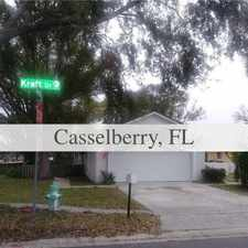 Rental info for House For Rent In CASSELBERRY. in the Winter Springs area