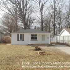 Rental info for 926 Cecil Ave in the Indianapolis area