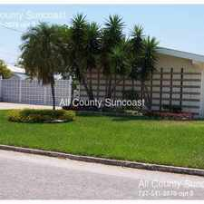 Rental info for 256 S Tessier Drive in the St. Petersburg area