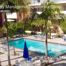 Rental info for 4716 La Villa Marina in the Los Angeles area