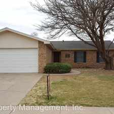 Rental info for 5903 15th Street in the Lubbock area