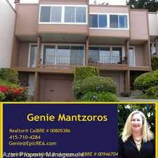 Rental info for 184 Carnelian Way in the San Francisco area