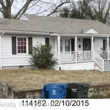 Rental info for 2309 East Main Street in the Durham area