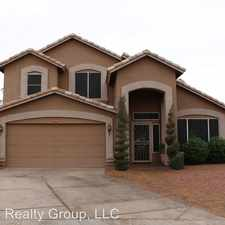 Rental info for 1334 S. Silverado Street in the Gilbert area