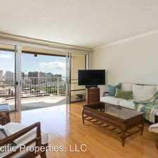 Rental info for 1350 Ala Moana Blvd 2612 in the Honolulu area