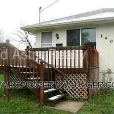 Rental info for 1402 S Harris Ave in the Kansas City area