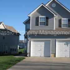 Rental info for Gorgouse Townhome in Staley Area in the Kansas City area