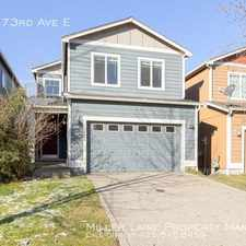 Rental info for 17828 73rd Ave E in the Graham area