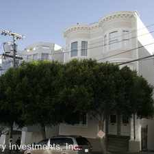 Rental info for 871-B Vallejo Street in the San Francisco area