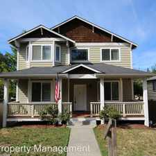 Rental info for 5625 38th Ave SW in the Seattle area
