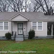 Rental info for 371 Josephine St. in the Memphis area